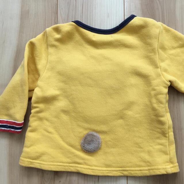 キムラタン(キムラタン)のキムラタン ピッコロ トレーナー くーたん キッズ/ベビー/マタニティのベビー服(~85cm)(トレーナー)の商品写真