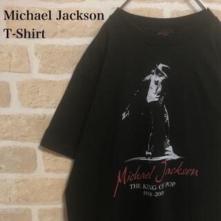 ART VINTAGE - Michael Jackson マイケル・ジャクソン 追悼 Tシャツ 希少 黒