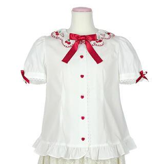 Angelic Pretty - Cherry Collarブラウス