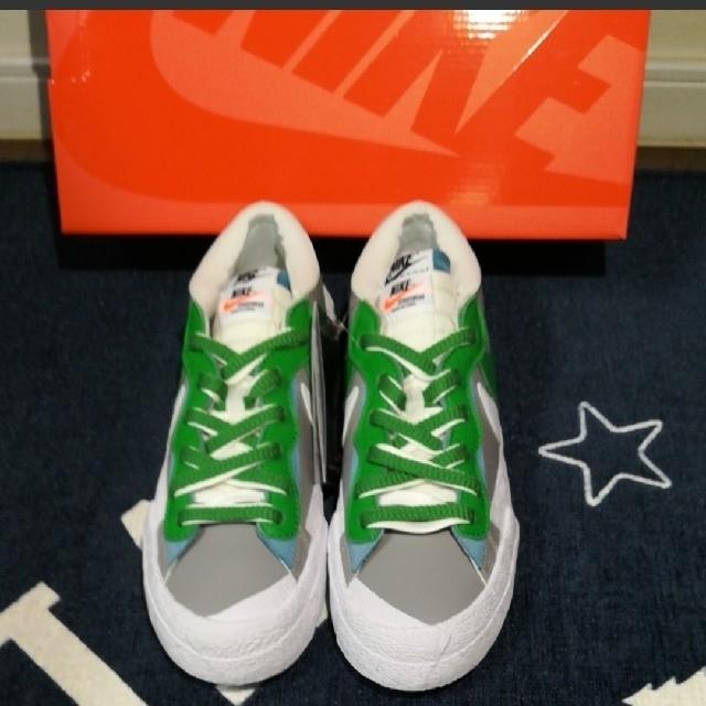 NIKE(ナイキ)のNIKE BLAZER LOW / sacai  ナイキ ブレーザー×サカイ  メンズの靴/シューズ(スニーカー)の商品写真