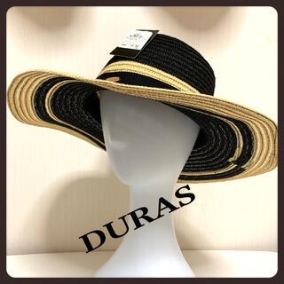 DURAS - [美品] DURAS デュラス 麦わら帽子 ストローハット