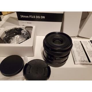SIGMA - SIGMA 24mm f3.5 dg dn【ライカLマウント】