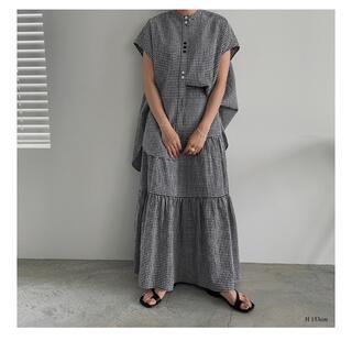 TODAYFUL - 【新品】willfully ギンガムチェック フレアスカート