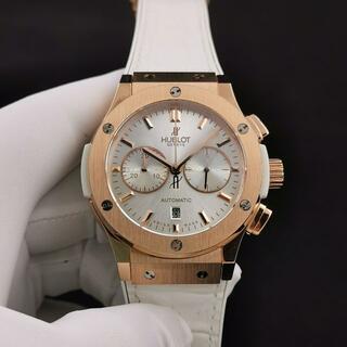 ウブロ(HUBLOT)の即購入OK!!ウブロ クラシックフュージョン クロノグラフ 腕時計 自動巻(レザーベルト)