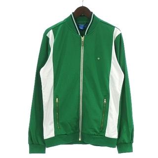 アディダス(adidas)のアディダス トラックジャケット ジャージ スタンスミス ロゴ 緑 XO ■SM(その他)