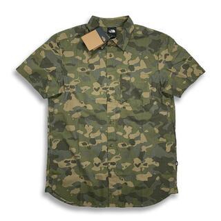THE NORTH FACE - ノースフェイス「新品正規品タグ付き」海外限定Baytrail半袖ボタンシャツ