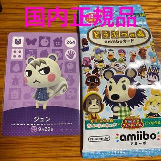 Nintendo Switch - amiiboカード ジュン