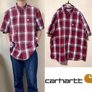 carhartt - carhartt カーハート BDシャツ チェクシャツ 半袖シャツ