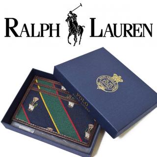 POLO RALPH LAUREN - ラルフローレン ポロベア パスケース 定期入れ RRL カードケース