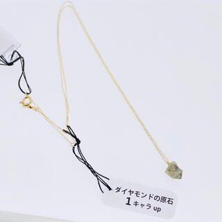K10YG ネックレス 原石ダイヤモンド 1.00ct↑ AANI アニ