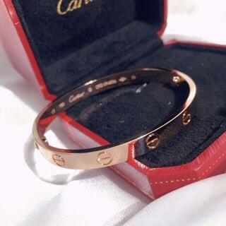Cartier - カルティエ ラブブレス PG ピンクゴールド