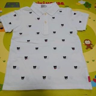 ミキハウス(mikihouse)のプチベアポロシャツ☆ミキハウス☆ダブルビー☆130(Tシャツ/カットソー)