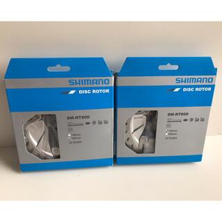 SHIMANO - SHIMANO SM-RT800 160mm/140mm ディスクローター