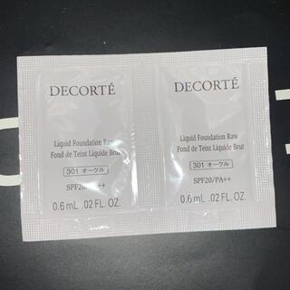 コスメデコルテ(COSME DECORTE)のザ スキン リキッドファンデーション ロウ 301(ファンデーション)