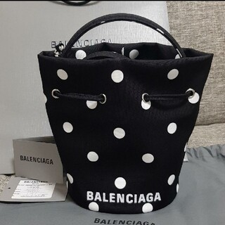 Balenciaga - BALENCIAGA WHEEL XS ドローストリング バケットバッグ