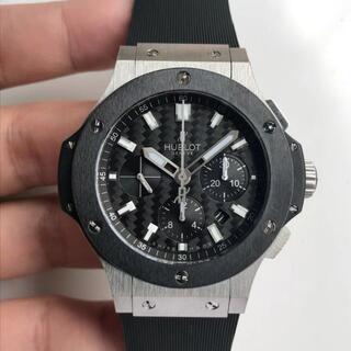 ウブロ(HUBLOT)の即購入OK!!!最高 ランク ウブロ ビッグバン メンズ 腕時計 自動巻(ラバーベルト)