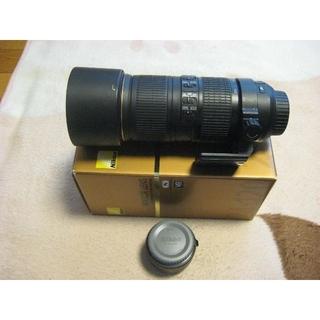 Nikon -  AF-S NIKKOR 70-200mm f4+TC-17E II テレコン