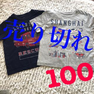 GAP Kids - Tシャツ GAP 100センチ 2着セット 半袖
