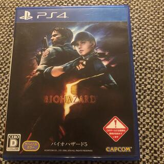 PlayStation4 - バイオハザード5 PS4