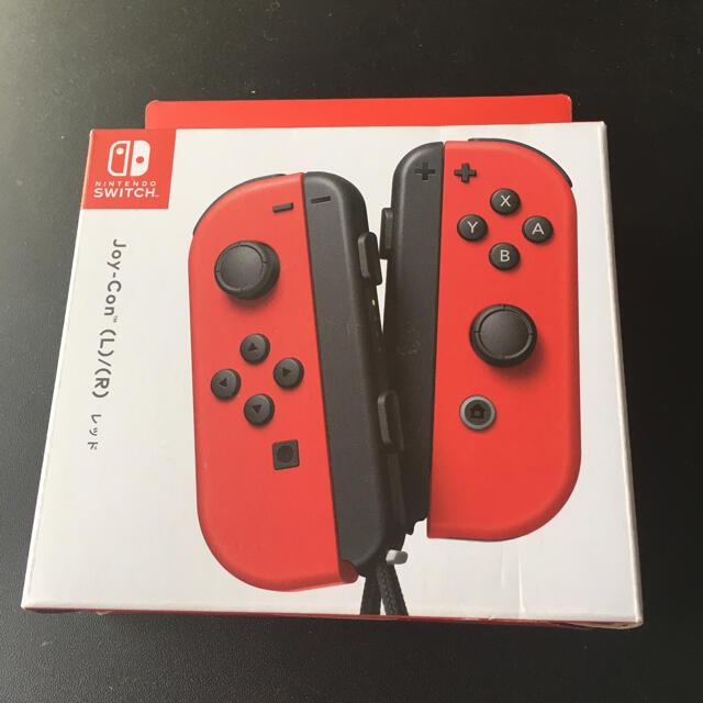 Nintendo Switch(ニンテンドースイッチ)の★ 人気カラー 廃盤レッドSwitch 左右セット ジョイコンJoy-Con エンタメ/ホビーのゲームソフト/ゲーム機本体(その他)の商品写真
