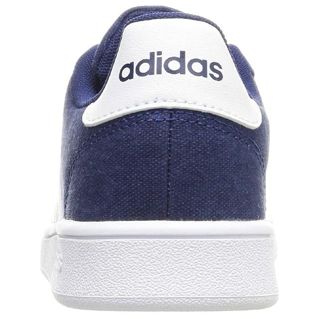 adidas(アディダス)の新品未使用【adidas/アディダス】キッズスニーカー 、19cm、ダークブルー キッズ/ベビー/マタニティのキッズ靴/シューズ(15cm~)(スニーカー)の商品写真