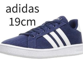 adidas - 新品未使用【adidas/アディダス】キッズスニーカー 、19cm、ダークブルー