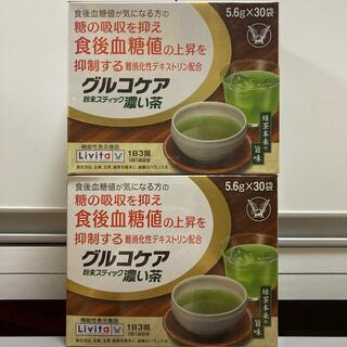 リビタ 大正製薬 食後血糖値が気になる方 グルコケア 粉末スティック 濃い茶 (健康茶)