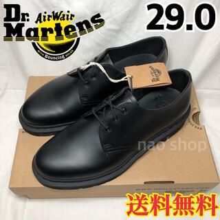 ドクターマーチン(Dr.Martens)の新品◉ドクターマーチン MONO ブラック 1461 3ホールギブソン 29.0(ドレス/ビジネス)