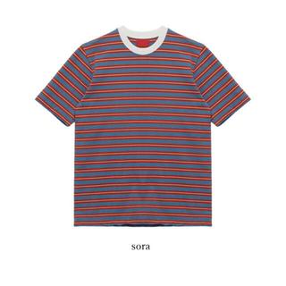 オオトロ(OHOTORO)のOHOTORO ボーダーTシャツ(Tシャツ/カットソー(半袖/袖なし))