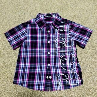 ベベ(BeBe)のBeBe 半袖 シャツ 男の子100(Tシャツ/カットソー)