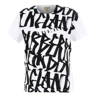 バーバリー(BURBERRY)の残1【新品】BURBERRY バーバリー グラフィティ Tシャツ オーバーサイズ(Tシャツ(半袖/袖なし))