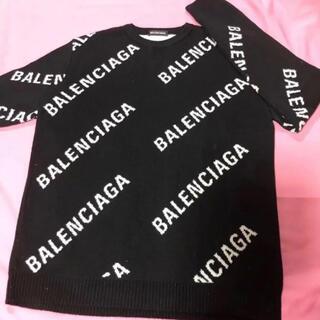 Balenciaga - Balenciaga ロゴ セーター