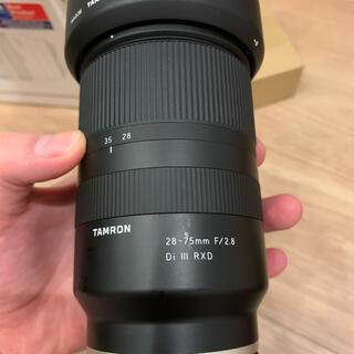TAMRON - TAMRON 28-75mm F/2.8 Di III RXD ソニーEマウント