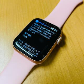 アップルウォッチ(Apple Watch)のApple Watch Series5 44mm(腕時計(デジタル))