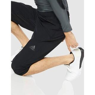 adidas - 定6589円!Web限定ブラック!アディダスウーブン新品7分丈ハーフパンツL