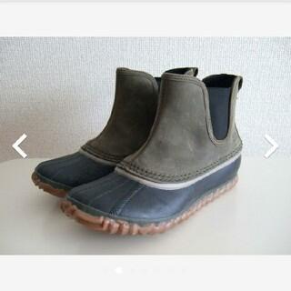 ソレル(SOREL)のSOREL ソレル アウトアンドアバウトチェルシー ブーツ 23cm 防水(ブーツ)