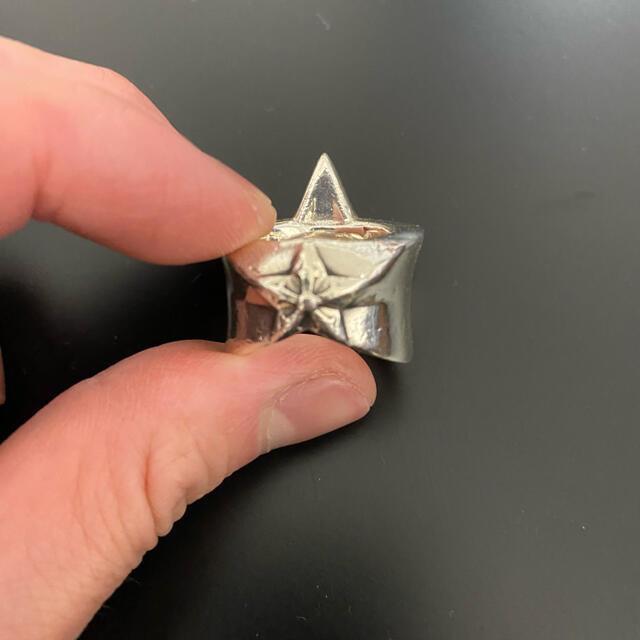 Chrome Hearts(クロムハーツ)のChrom hearts クロムハーツ  ラージスターリング メンズのアクセサリー(リング(指輪))の商品写真