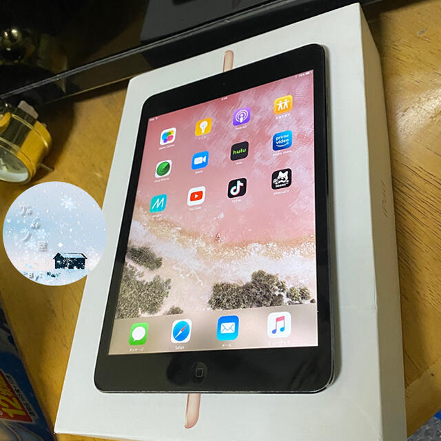 iPad(アイパッド)の完動品 iPad  mini1 16GB  WiFiモデル  アイパッド ミニ スマホ/家電/カメラのPC/タブレット(タブレット)の商品写真