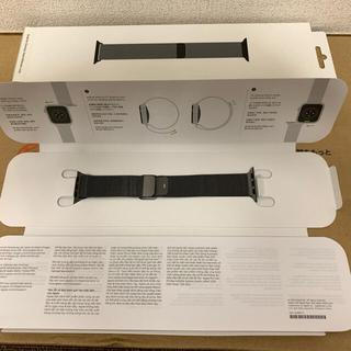 Apple - 【美品】Apple Watch 純正ベルト ミラネーゼループ 40mm
