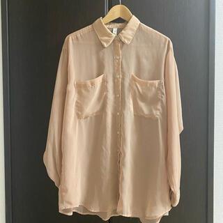 American Apparel - アメアパ シースルー オーバーサイズ シアーシャツ