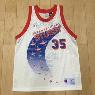 ステューシー(STUSSY)のStussy × Champion Basket Ball Jersey(タンクトップ)