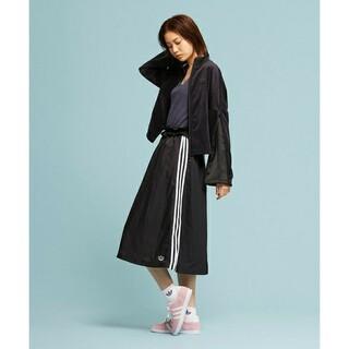 adidas - 定7139円!Web限定ブラック!アディダスオリジナルス新品ロングスカート!