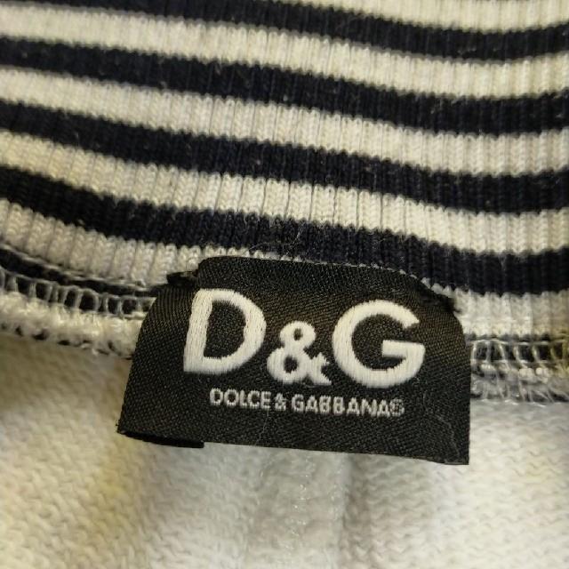 DOLCE&GABBANA(ドルチェアンドガッバーナ)のドルチェ&ガッバーナ ハーフパンツ ホワイト スエット メンズのパンツ(ショートパンツ)の商品写真