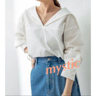 mystic - 新品 mystic  ミスティック セーラーシャツ