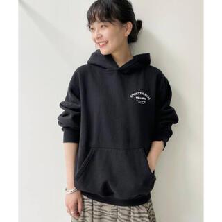 L'Appartement DEUXIEME CLASSE - WELLNESS STUDIO HOODIE SWEAT◆ブラック 38