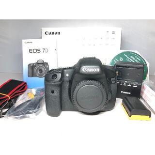 Canon - 極上品 付属品多数 キヤノン EOS 7D ボディ