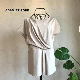 Adam et Rope' - 【美品】アダムエロぺ デザインカットソー Tシャツ 半袖
