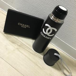 CHANEL - CHANEL ノベルティ  保温・冷温 対応  タンブラー  黒色