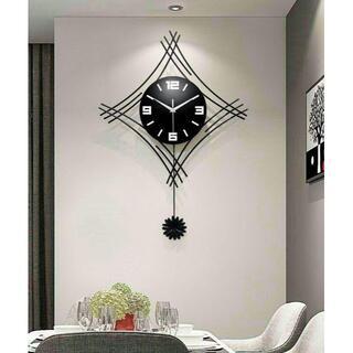 掛け時計 壁掛け時計 壁掛け 北欧 かわいい おしゃれ 電波夜寝室インテリア