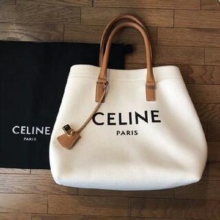 celine - CELINE ホリゾンタル キャンバストート